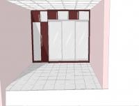 гардеробы на заказ для нетипичных спальных помещений по требованию